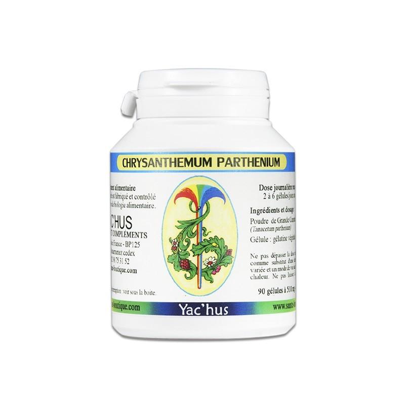 yachus-chrysanthemum-parthenium-grande-camomille-menopause-migraine-glucose
