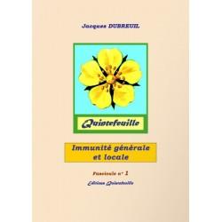 Fascicule santé n°1 : Immunité générale et locale