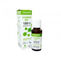Vitamine D3++ végétale, 1000 UI